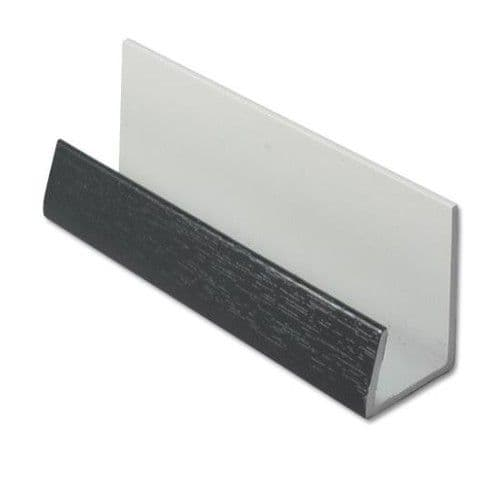 Cladding U Trim  UPVC Anthracite (Dark Grey)