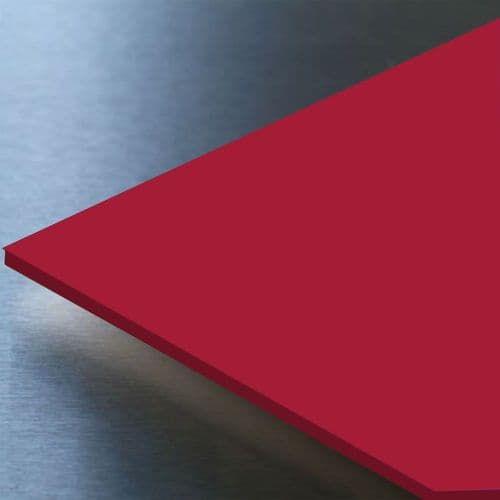 Hygienic Wall Cladding Gloss Ruby Red 8ft x 4ft