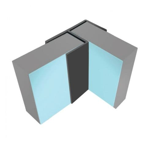 Multipanel Flush Corner 11.5mm