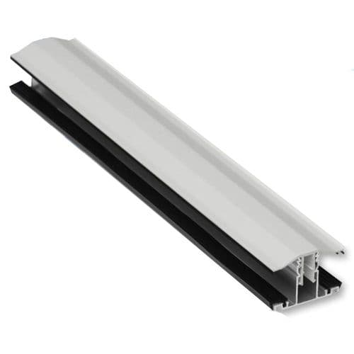 Snap Down Glazing Bar 25mm White