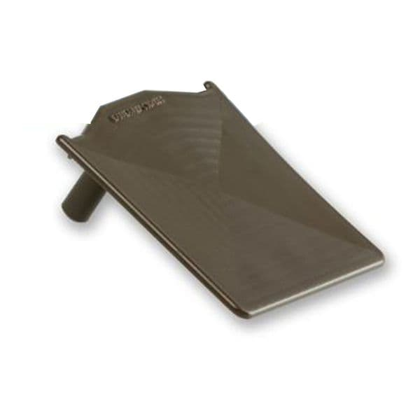Snap down Glazing Bar Additional End Cap Brown