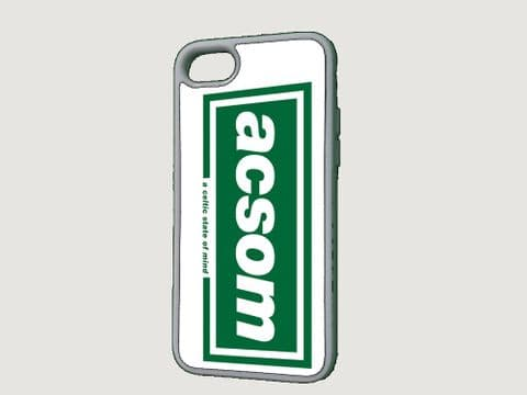 """ACSOM """"A Celtic State Of Mind"""" Phone Case"""