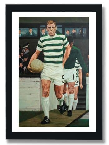 Billy McNeill Leads Out The Hoops