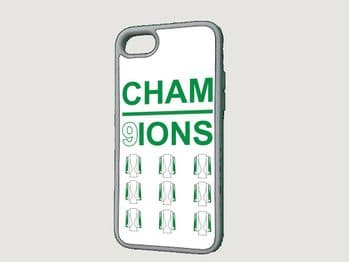 Cham9ions Cup Celtic FC Phone Case
