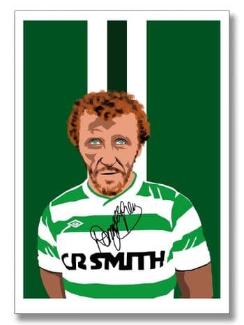 Danny McGrain - Signed Celtic Prints