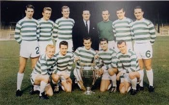 Lisbon Lion A3 Prints @ Celtic Park 1967