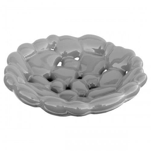 Ceramic Bubble Fruit Bowl - Grey