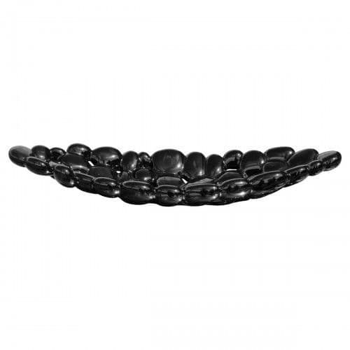 Ceramic Bubble Tray - Black