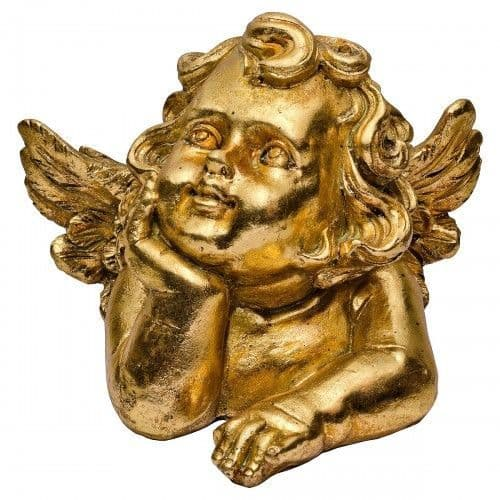 Golden Cherub Decoration