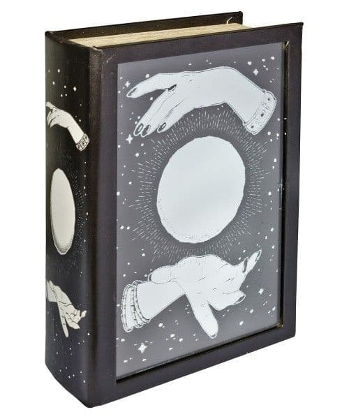Mirrored Crystal Ball Storage Book Box! Looks like a book!