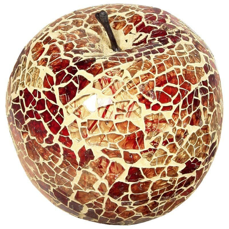 Mosaic Glass Apples Without A Leaf - Various Colours