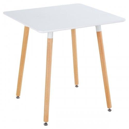 Rossall White Dining Table