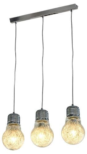 Three Bulb Ceiling Light