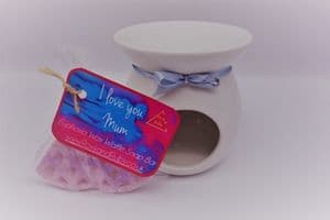 'Euphoria' Scented Wax Waffle Snap Bar & Burner Set – can be personalised