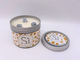 'Si' Highly Scented Candle Tin – can be personalised