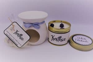 'White Patchouli' Scented Gift Package - Can be personalised