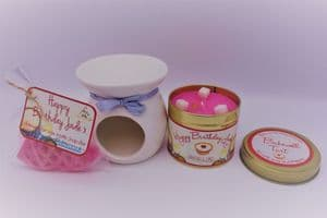 Bakewell Tart Scented Gift Package - Can be personalised