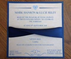 Evening Invitation with matching envelope