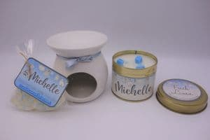 Fresh Linen Scented Gift Package - Can be personalised