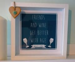 Friends with Wine