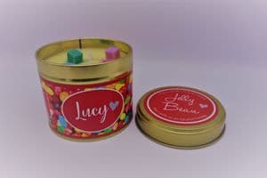 Jelly Bean Highly Scented Candle Tin – can be personalised