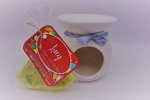 Jelly Bean Scented Wax Waffle Snap Bar & Burner Set – can be personalised