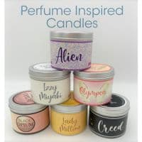 Perfume Inspired Candles