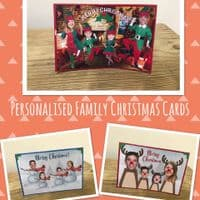 Personalised Family Christmas