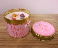 Pixie Dust Highly Scented Candle Tin – can be personalised