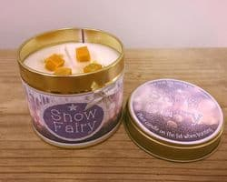 Snow Fairy Highly Scented Candle Tin – can be personalised