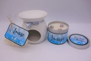 Thai, Lime & Mango Scented Gift Package - Can be personalised
