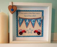 Tractor Bunting - New Baby