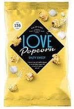Love Popcorn Salty and Sweet