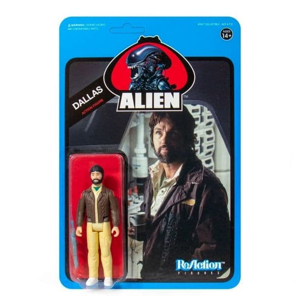 *PRE ORDER* Alien W3 Dallas (Blue Card) ReAction Figure