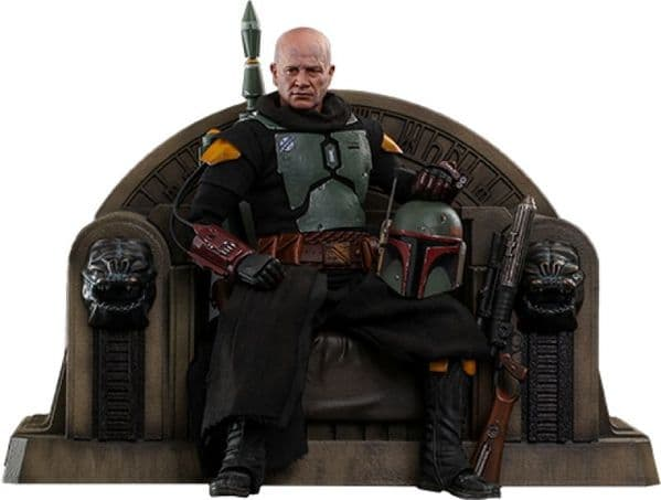 *PRE ORDER* Hot Toys 1:6 Star Wars: Boba Fett (Repaint Armour) and Throne