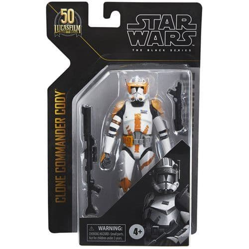 *SOLD OUT* Star Wars The Black Series Archive Collection Clone Commander Cody 6