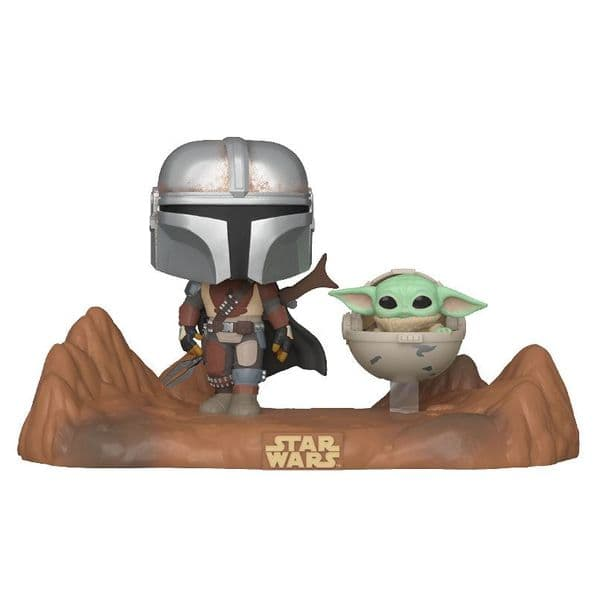 Funko Pop! Moment The Mandalorian with The Child