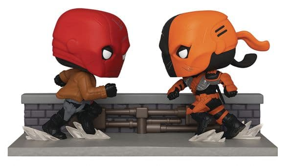 Funko Pop! SDCC 2020 Red Hood vs Deathstroke PX Previews Exclusive
