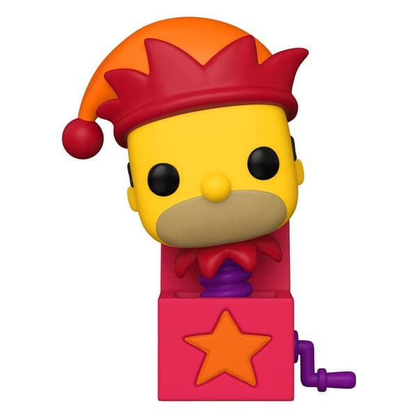 Funko Pop! The Simpsons Homer Jack in The Box