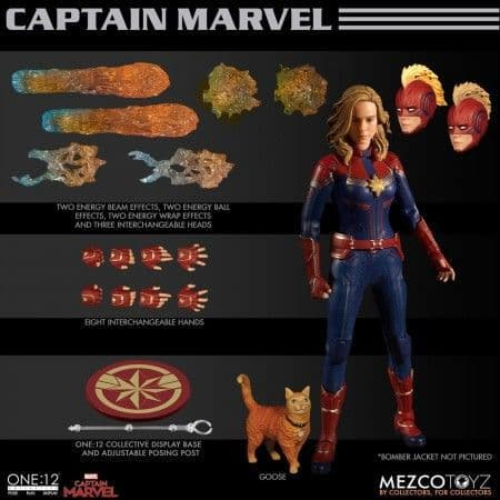 Mezco One:12 Collective Captain Marvel