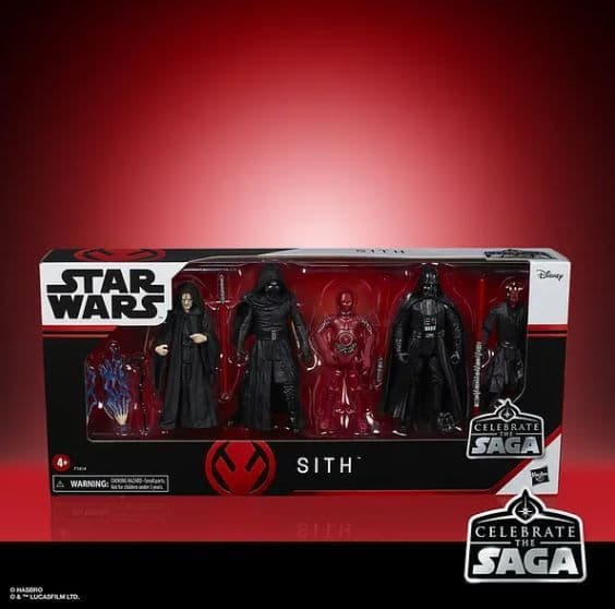 Star Wars Celebrate The Saga Diamond Comics Previews Exclusive The Sith Pack