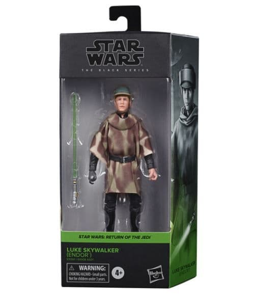 Star Wars The Black Series Luke Skywalker (Endor Battle Poncho) 6