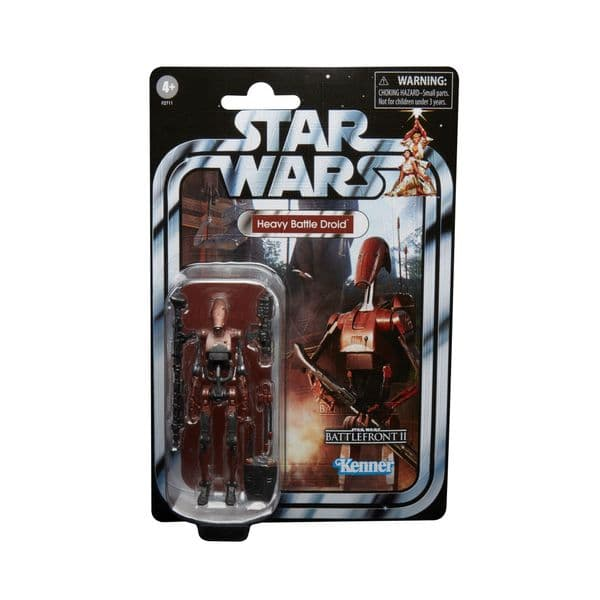 Star Wars The Vintage Collection Gaming Greats Heavy Battle Droid