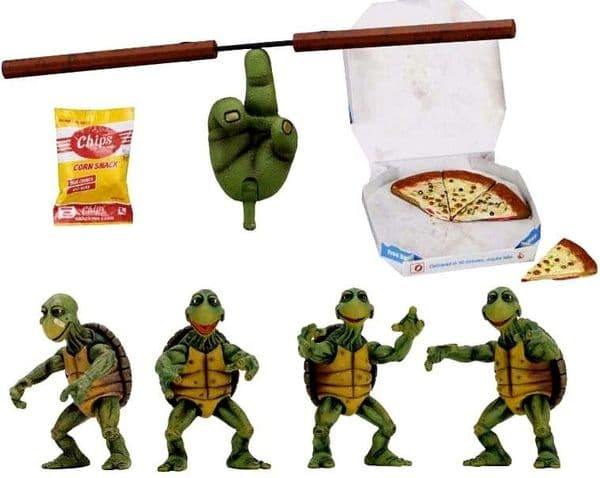 Teenage Mutant Ninja Turtles (1990 Movie) 1/4 Scale Baby Turtles Accessory Set