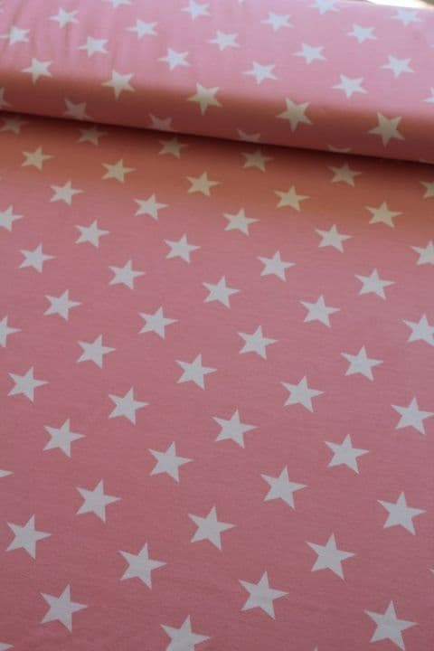 Pink and White Stars - Buster