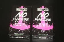"""2 x MUC-OFF 140ML """"NO PUNCTURE HASSLE"""" TUBELESS SEALANT KITS"""
