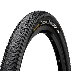 PAIR CONTINENTAL DOUBLE FIGHTER MKIII TYRES - ALL WHEEL SIZES