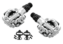 SHIMANO M520 SPD PEDALS (PAIR INC CLEATS)