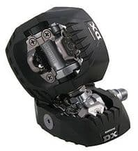 SHIMANO M647 SPD PEDALS (PAIR INC CLEATS)