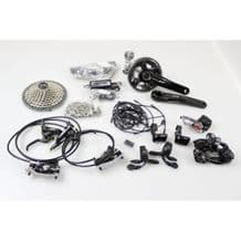 SHIMANO XT M8050 DI2 GROUPSET - 2 X 11 SPEED - INC DISC BRAKES